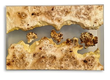 Kitchen Furniture - Mappa Burl Epoxy Club Table - JUNIKOR