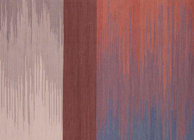 Contemporain - Tapis Bambou Soie Ikat tapis - AZMAS RUGS