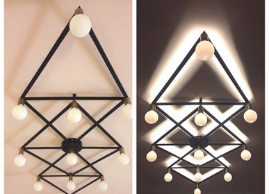 Ceiling lights - Diamond ceiling lamp - ATELIER LANDON