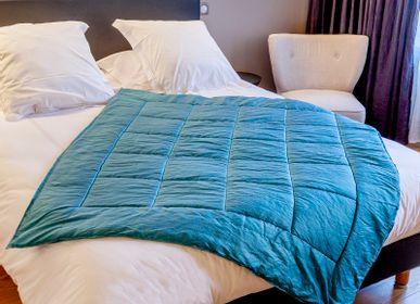 Linge de lit - Plaid fait main - ISABELLE BOUBET