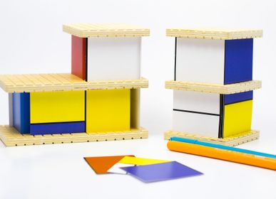 Toys - HOUSE Mondrian construction toy - Medium - BEAMALEVICH