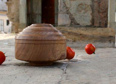 Kitchen utensils - Handmade Rohida Wood Bowl Set - DE KULTURE WORKS