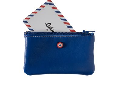 Leather goods - Emile- UpCycled wallet - LARMORIE OFFICIEL