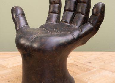Stools - Hand XXL small stool - CHEHOMA
