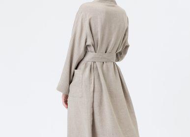 Homewear - Linen Kimono-Bathrobe LINAS - JURATE