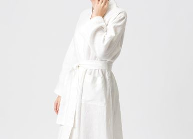 Homewear - Linen Kimono-Bathrobe VASARA - JURATE