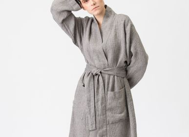 Ready-to-wear - Linen Kimono-Bathrobe SMILTE - JURATE