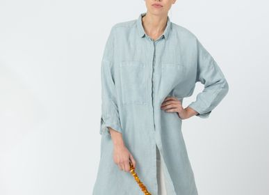 Unique pieces - Long Linen Shirt VANDA - JURATE