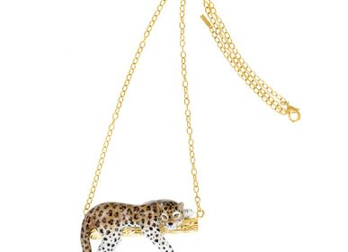 Jewelry - LEOPARD NECKLACE ON THE BRANCH - NACH