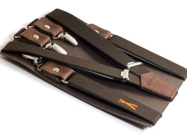 Leather goods - Strasbourgeoises Suspenders - VERTICAL L ACCESSOIRE