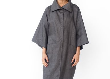 Ready-to-wear - Waterproof linen jacket LYJA - JURATE