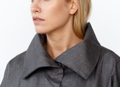 Apparel - Waterproof linen jacket LYJA - JURATE