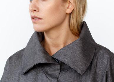 Prêt à porter - Veste imperméable en lin LYJA - JURATE