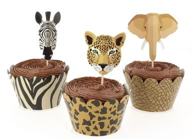 Birthdays - Savannah Cupcake Kit - Recyclable - ANNIKIDS