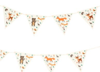 Birthdays - Forest Animals Garland - Recyclable - ANNIKIDS