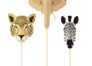 Birthdays - Savannah Cake Toppers - Recyclable - ANNIKIDS