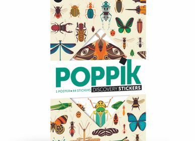 Games - Giant poster + Stickers - INSECTES - POPPIK