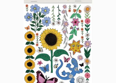 Creative Hobbies - Sunflower Temporary Tattoos (A6) - ROSIE WONDERS