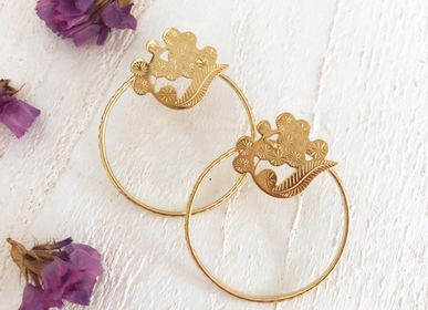 Jewelry - Mimosa Floral Earrings - JOUR DE MISTRAL