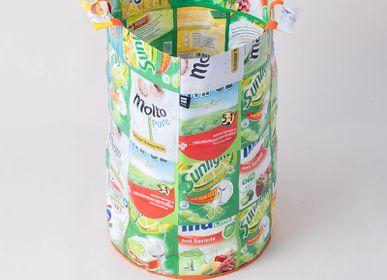 Laundry basket - Laundry Bin – Large - Recycled Plastic Upcycling - BERGERS BELGIUM BVBA