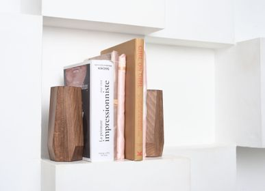 "Decorative objects - Bookend ""Wood Job"" - VERY MARQUE"