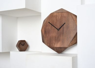 "Clocks - Wall clock ""Wood Job"" - VERY MARQUE"
