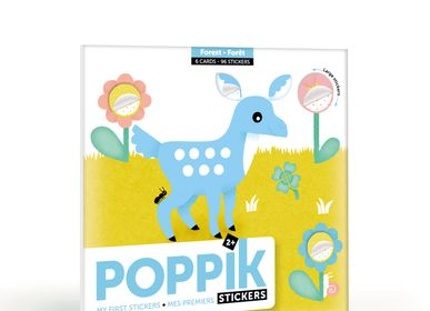 Games - Cards + stickers - FOREST ANIMALS - POPPIK
