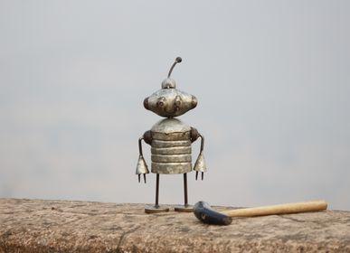 Objets de décoration - Figurine en fer recyclé fait main - DE KULTURE WORKS