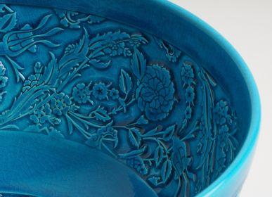 Ceramic - LEVNALEVN Turquoise Candle Holder - ESMA DEREBOY HANDMADE CERAMIC