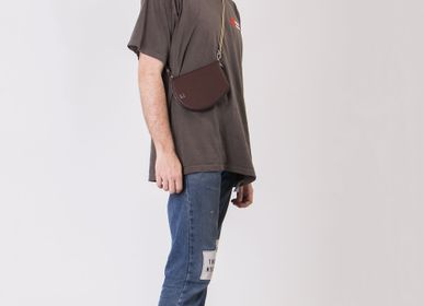 Leather goods - Genderless Pocket maxi travel organiser cross body ebony /black - MLS-MARIELAURENCESTEVIGNY