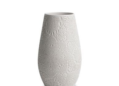Vases - Ensemble de vase à motif dentelle SAF - ESMA DEREBOY HANDMADE CERAMIC