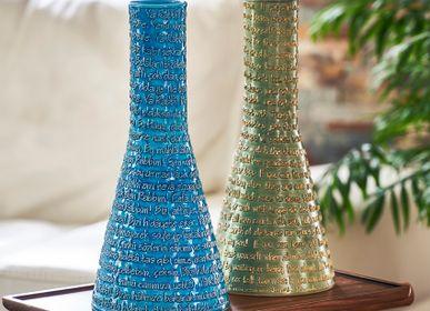 Vases - Mevlana Turquoise Bowl and Vase - ESMA DEREBOY HANDMADE CERAMIC