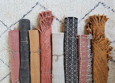 Contemporary - Handwoven recycled cotton and jute rugs - LA MAISON DE LILO