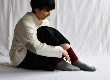 Chaussettes - CHAUSSETTES EN LAINE MOHAIR - NISHIGUCHI KUTSUSHITA