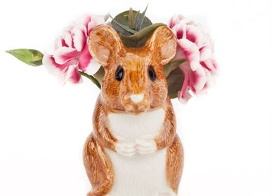 Vases - Animal Bud Vases - QUAIL DESIGNS