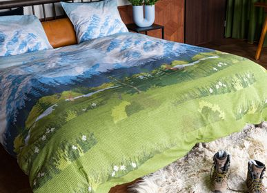 Bed linens - SNURK Across The Alps duvet cover - SNURK