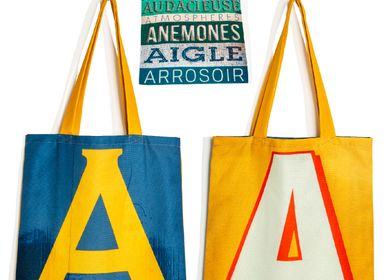 Bags / totes - Alphabet letter tote bags - MARON BOUILLIE