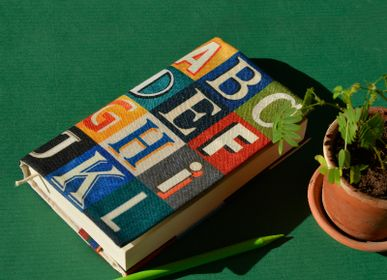 Travel accessories / suitcase - Book cover ABC Alphabet - MARON BOUILLIE