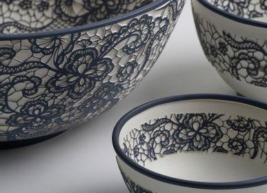 Objets de décoration - YAS Bol en céramique à motif dentelle - ESMA DEREBOY HANDMADE CERAMIC