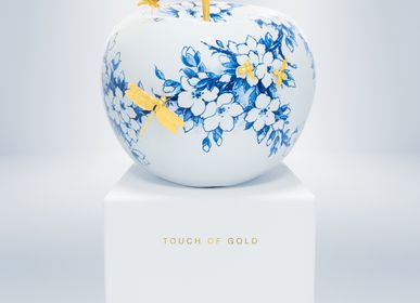 Design objects - TOUCH OF GOLD II Limited Edition decorative item - ROYAL BLUE COLLECTION®