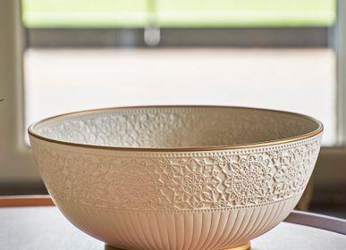 Objets de décoration - GELIN Bol en céramique à motif dentelle - ESMA DEREBOY HANDMADE CERAMIC