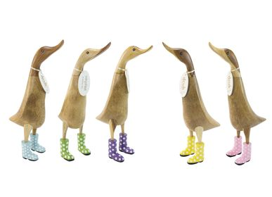 Decorative objects - Ducklets with Spotty Welly Boots - DCUK