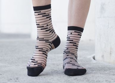 Socks - Shinjuku Black Sock - ATELIER ST EUSTACHE