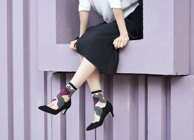 Socks - Tokyo Plum Sock - ATELIER ST EUSTACHE