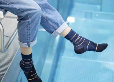 Chaussettes - Tate Modern Blue Chaussette - ATELIER ST EUSTACHE