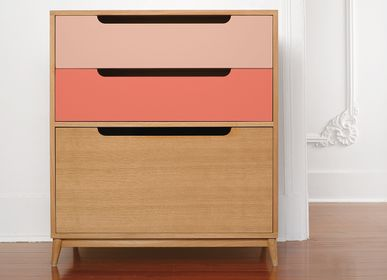 Chests of drawers - CHEST OF DRAWERS MOCHA - KULILE
