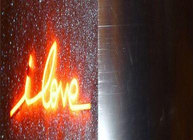 Tableaux - tableau lumineux en miroir et néon - CAROLINE BAUP