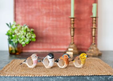 Gift - Wooden Napkin Rings - WILDLIFE GARDEN