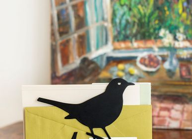 Decorative objects - Letter Rack Blackbird - WILDLIFE GARDEN