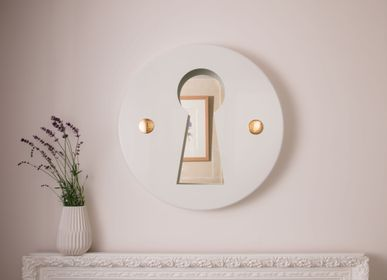 "Mirrors - ""L'INDISCRET"" - Wall mirror - MADE IN WAW !"
